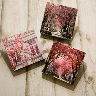 Fotos auf MDF-Holzplatte, schwarz